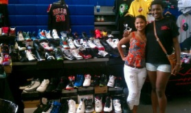 She used to pitch my kicks for me