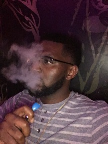 Spending money with a friend at a hookah bar. I think im so cool smh. Stupid expense lol